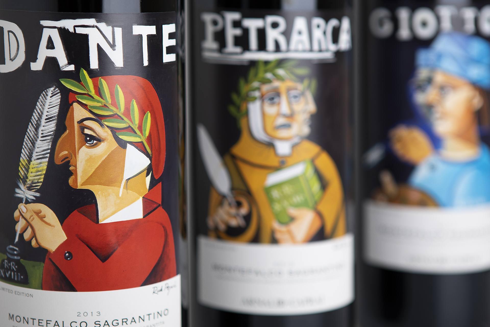 Etichette Vino Caprai