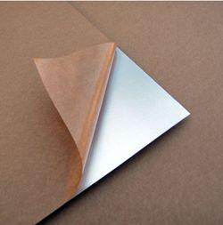 Foglio monoadesivo in alluminio