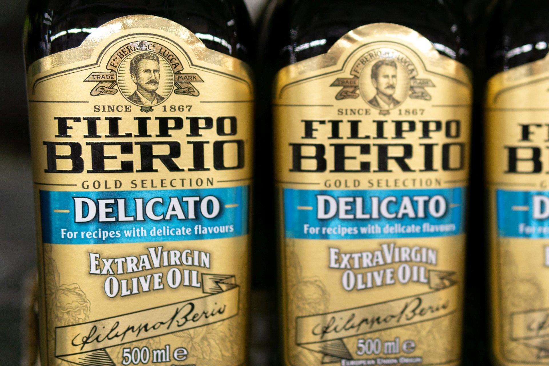 Filippo Berto - Etichette Olio